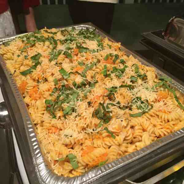 Fusilli with Roasted Butternut Squash & Goat Cheese
