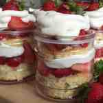 summer dessert, strawberries, strawberry shortcake