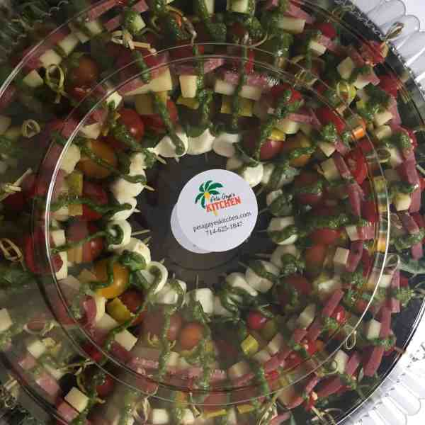Antipasto on a Skewer