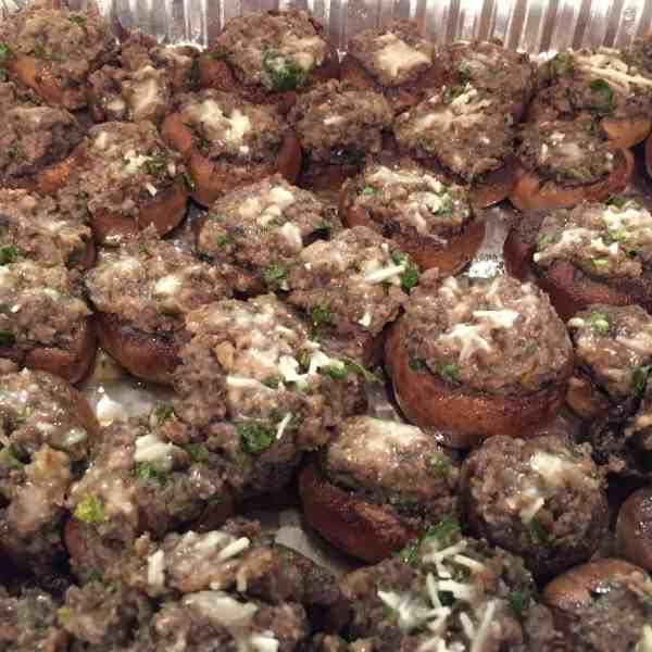Italian Style Stuffed Mushrooms
