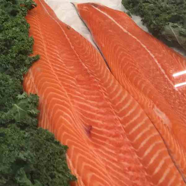 Baked Salmon Filet : Choice of Marinade