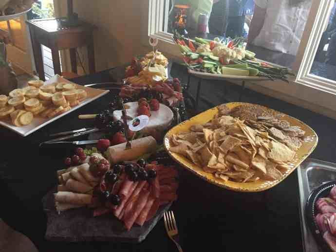 appetizers, cheeses, meats