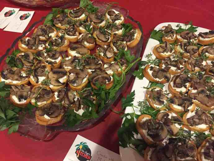 mushrooms, appetizers, vegetarian