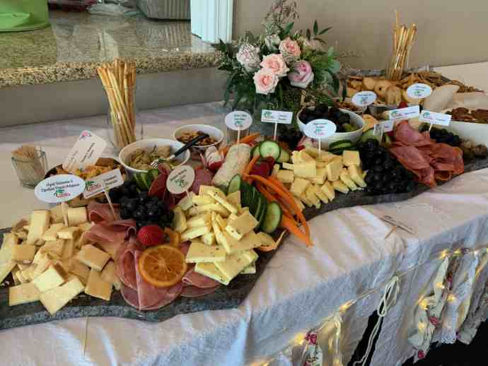meats, cheeses, charcuterie