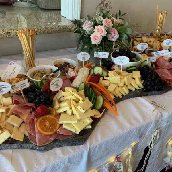 Charcuterie Platter: Assorted Cheeses, Meats, Dips, Vegetables & Breads