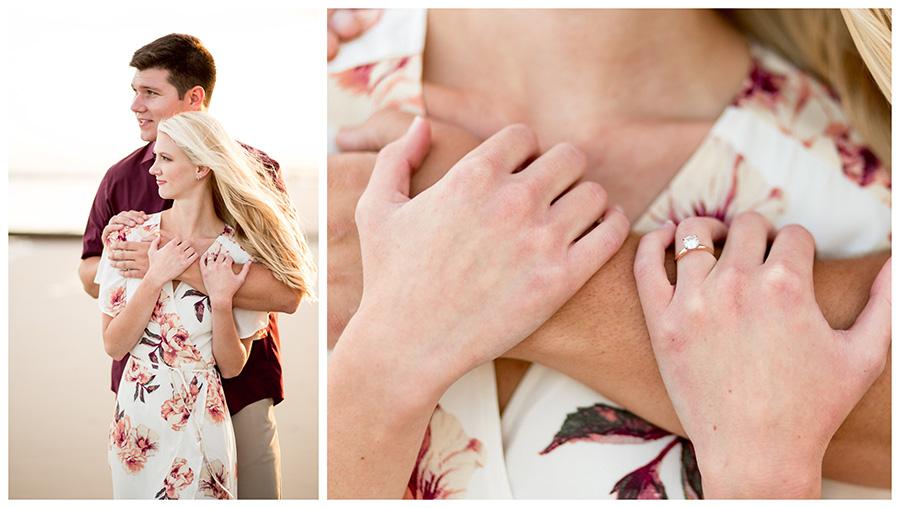 minimalist engagement ring