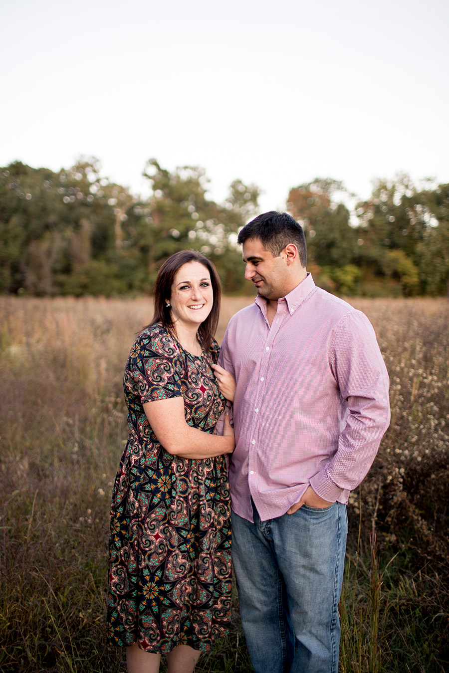engagement session at parvin