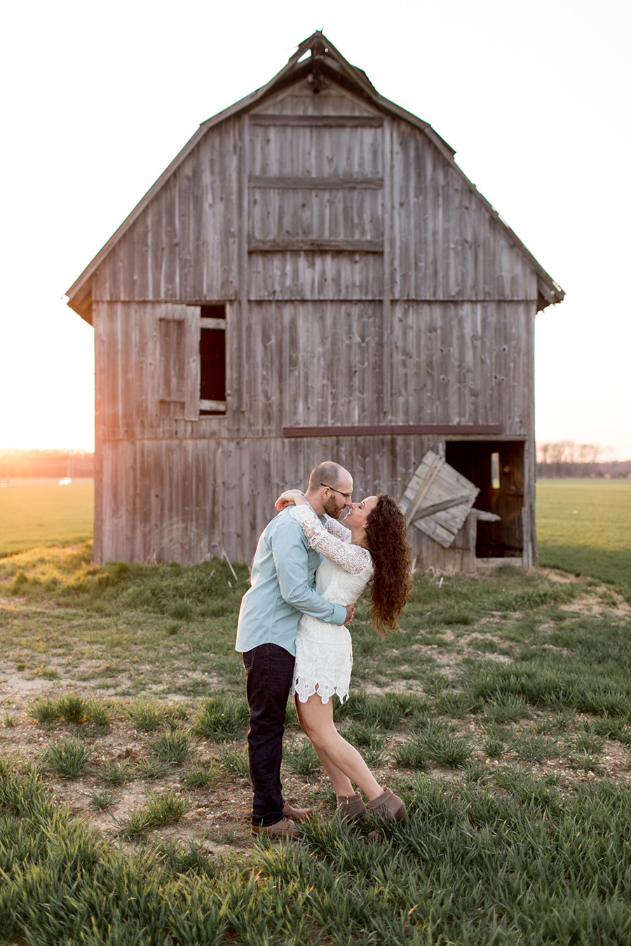 country farm engagement