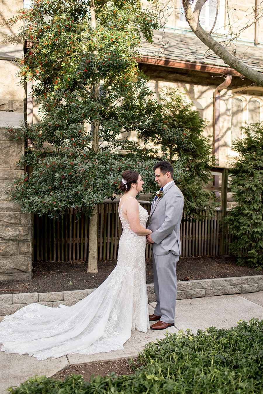 immaculate conception wedding ceremony