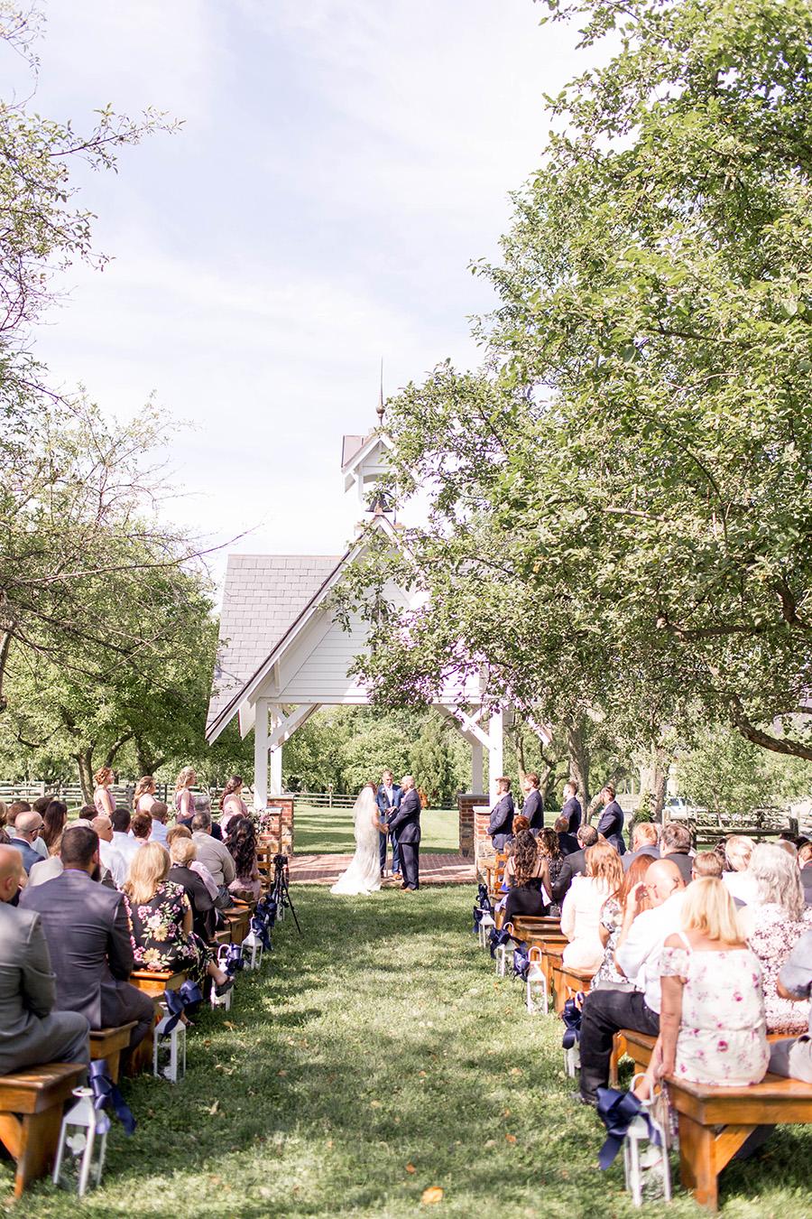 Apple orchard wedding at Ironstone Ranch