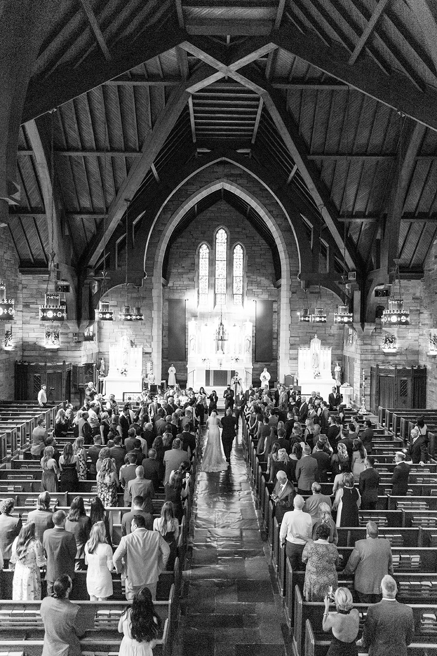saint agnes church west chester pa wedding ceremony