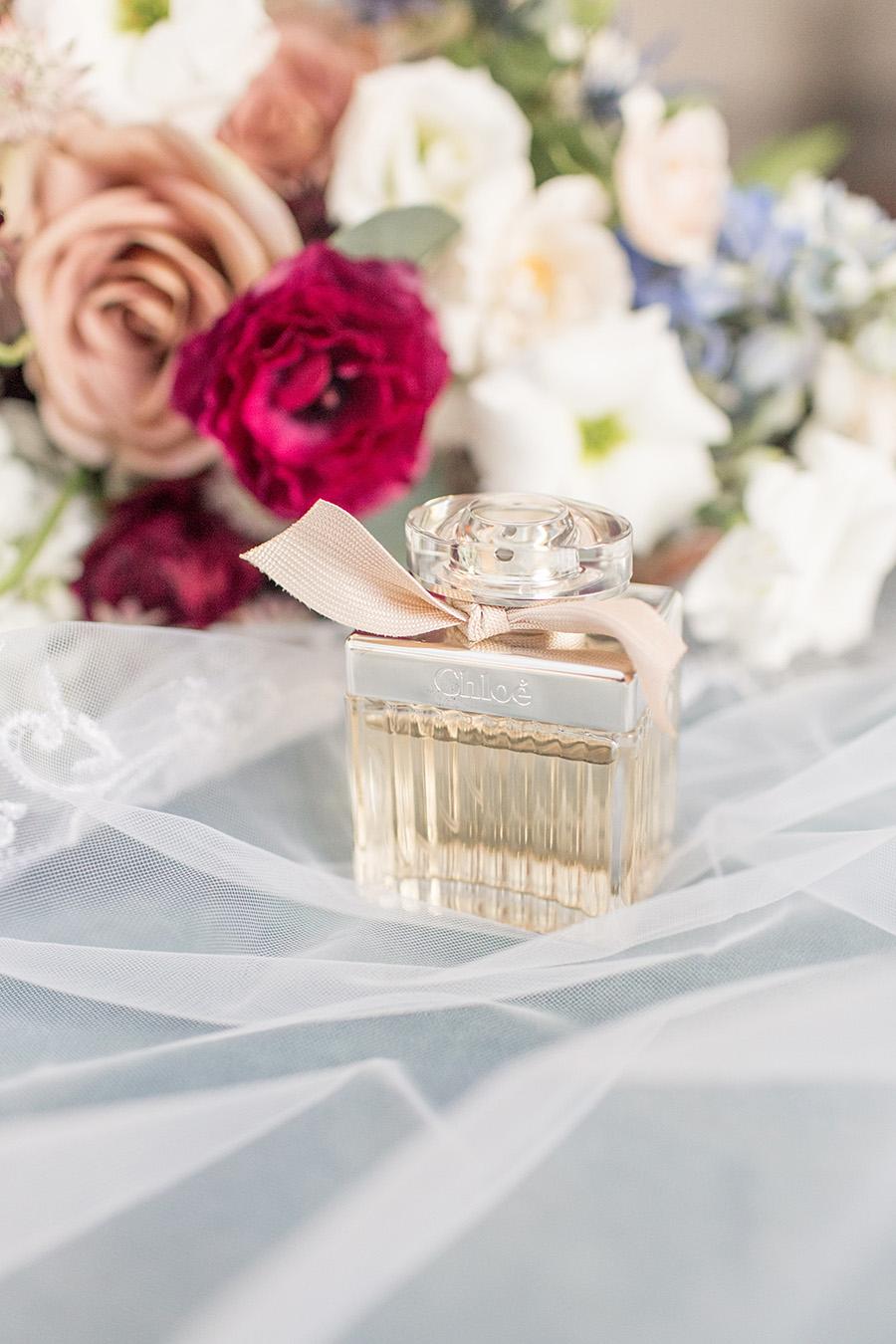 Wedding day perfume