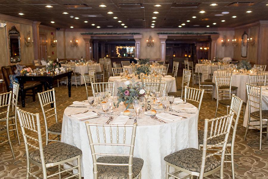 Wedding ballroom at Olde Mill Inn