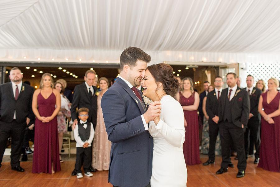 Wedding reception at Olde Mill Inn