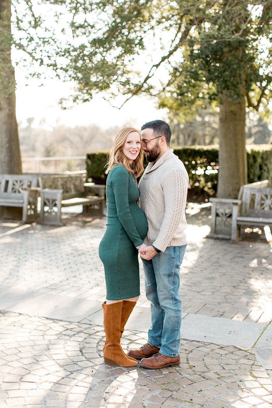 winter maternity session in pa