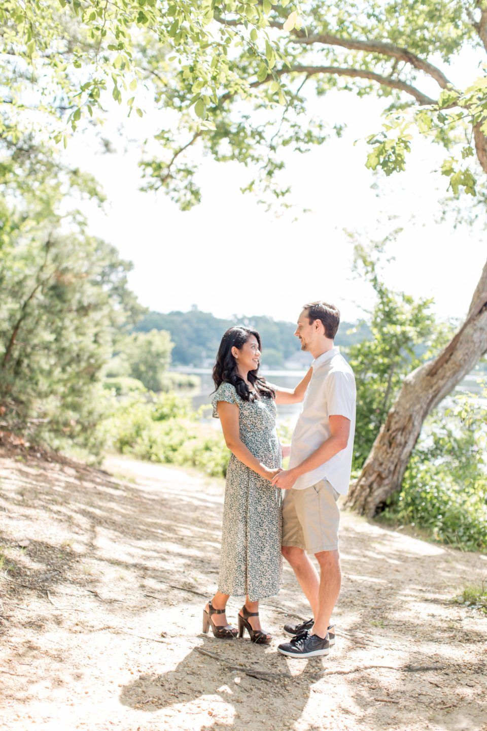 engagement at piney point picnic area
