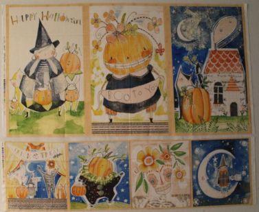 happy halloween panel