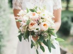 peach peonies and rannuculas