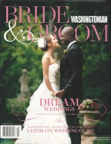 Washingtonian Bride & Groom, Winter 2014