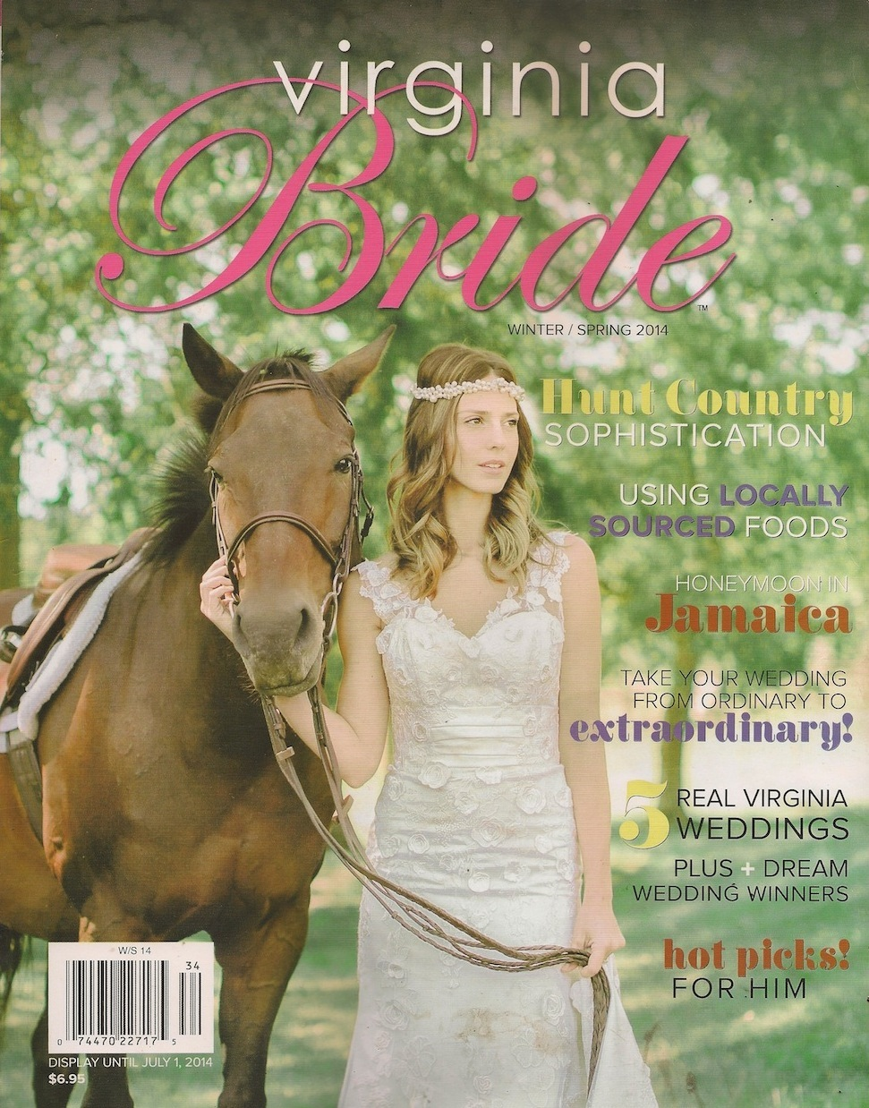 Virginia Bride, Winter/Spring 2014