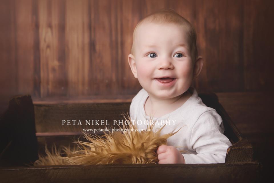 baby portraits captured in hobart studio
