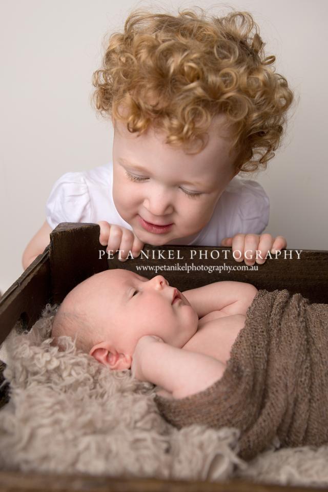 Siblings Portrait Hobart