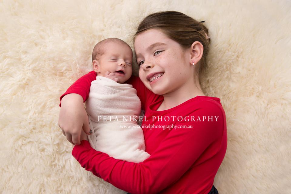 Sibling portraits hobart