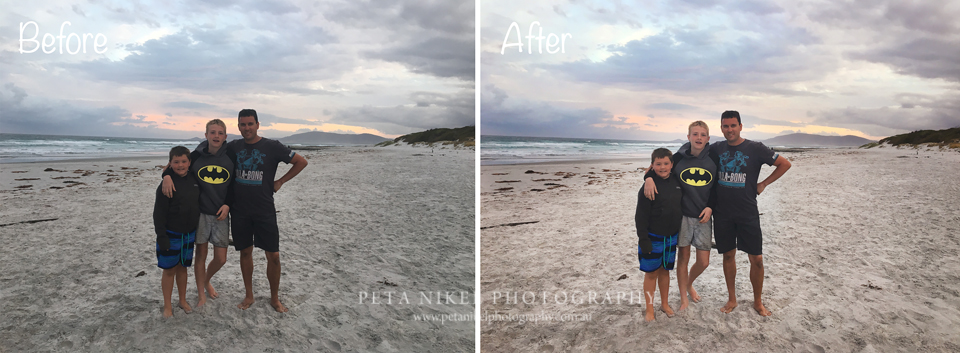 Bicheno Tasmania Before and After