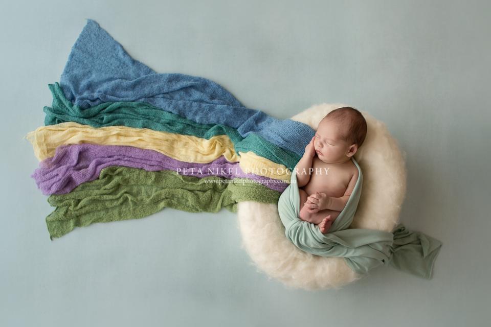 Rainbow Baby Photographer Hobart Tasmania