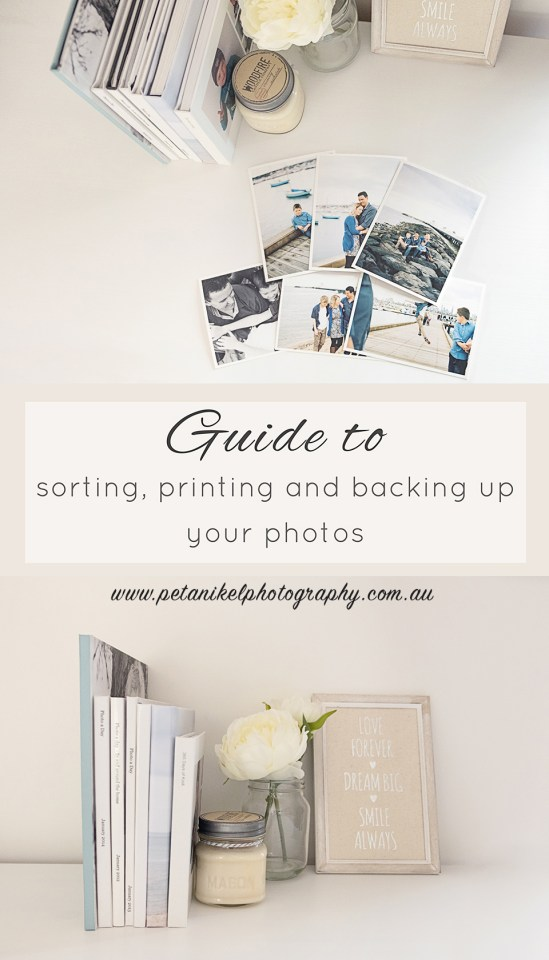 guide to printing and backing up your photos