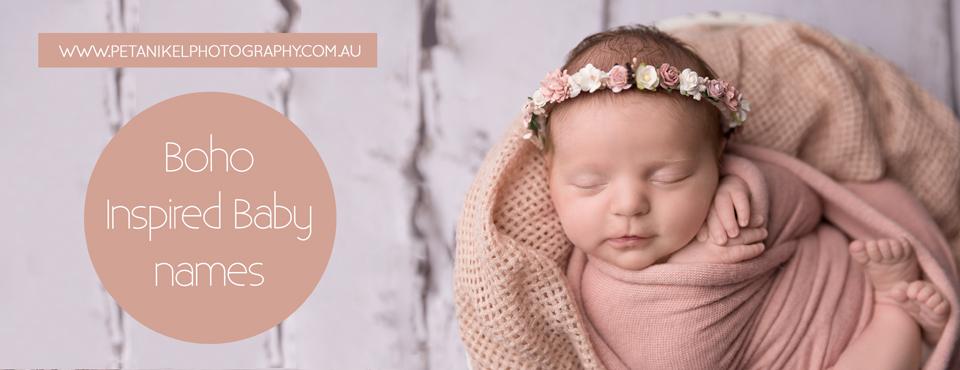 boho inspired baby names