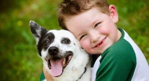 pet faz bem para crianças