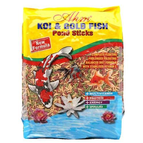 ahm koi goldfish mix sticks 1 kg