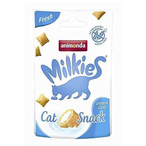 animonda milkies fresh dental care dis sagligi tahilsiz kedi odulu 30 gr