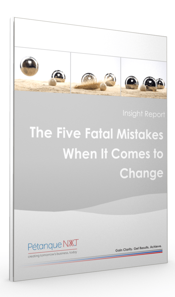 Five Fatal Mistakes when it comes to Change