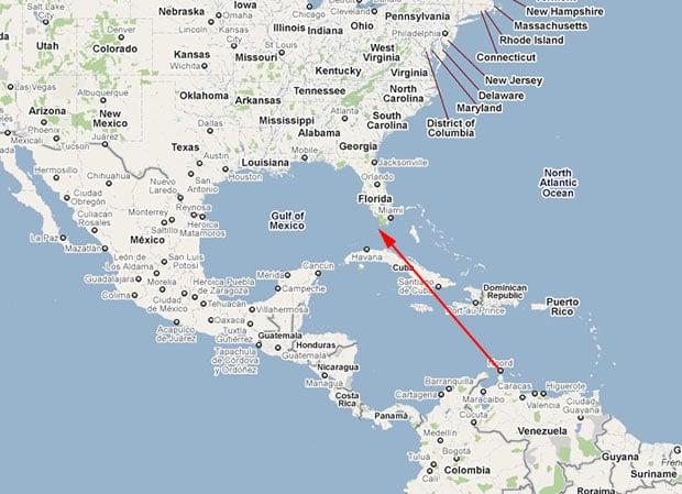 Google Maps Aruba