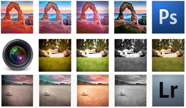Instagram Filters for Photoshop, Aperture, and Lightroom