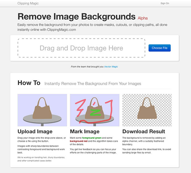 Clipping Magic Helps You Easily Remove Picture Backgrounds screenshot