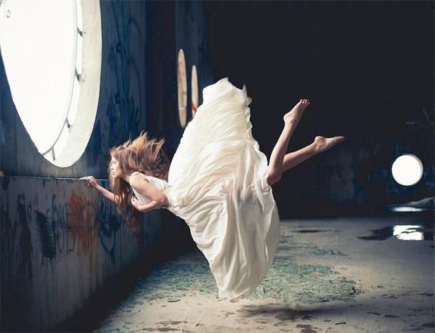 Surreal Photos of Women Floating in Zero Gravity by Nikolay Tikhomirov zero gravity nikolay 10