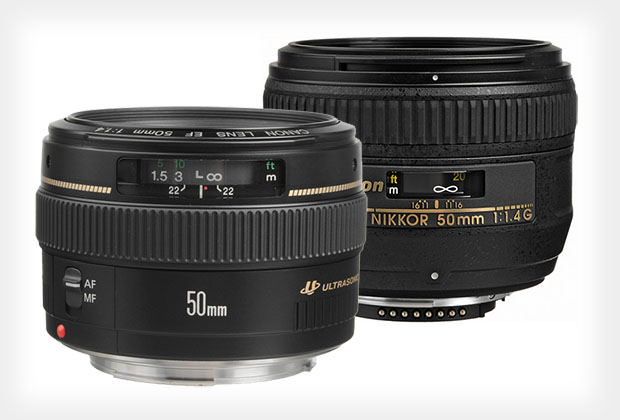 Giveaway: Win a Canon or Nikon 50mm f/1.4 Lens 50mmlenses