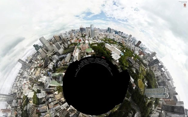 600,000 Pixel Wide Tokyo Panorama is the Worlds 2nd largest Photo Ever Made 7