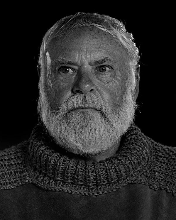 Portraits of the Bearded Men in an Ernest Hemingway Look Alike Contest DUSTY RHODES 1289 1