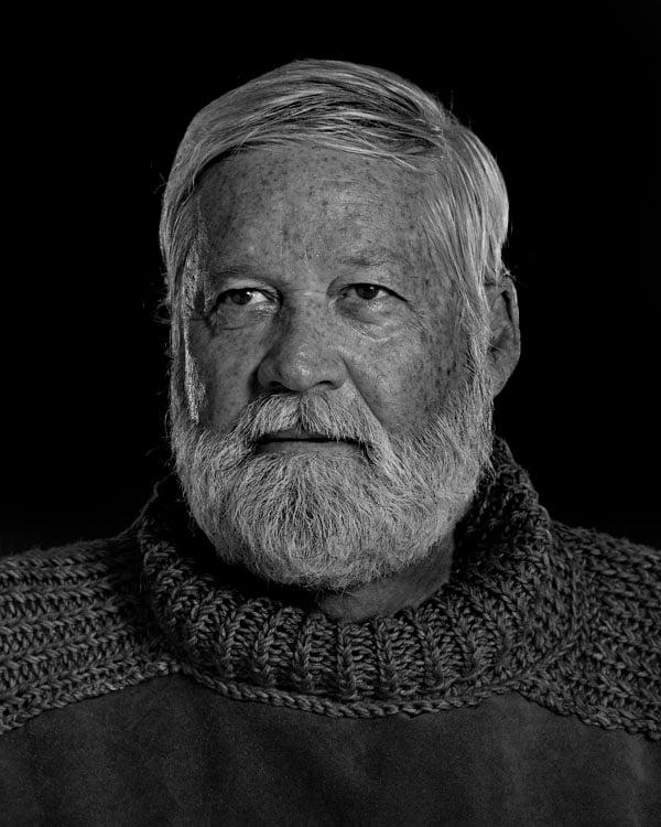 Portraits of the Bearded Men in an Ernest Hemingway Look Alike Contest WALT COLLINS 1834 1