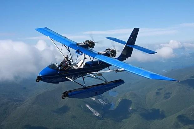 AirCam: A $  50,000 Homebuilt Airplane Kit for Serious Aerial Photographers aircam1