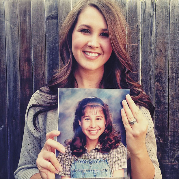 Portraits of People Holding Their School Pictures from Awkward Years awkwardyears 6