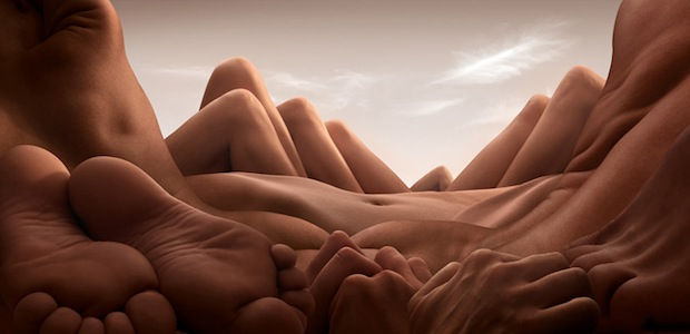 Bodyscapes: Creating Landscape Photos With the Human Body bodyscapes7