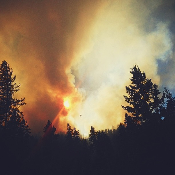 Hotshot Firefighter Takes to Instagram to Document His Crews Heroics boydston1