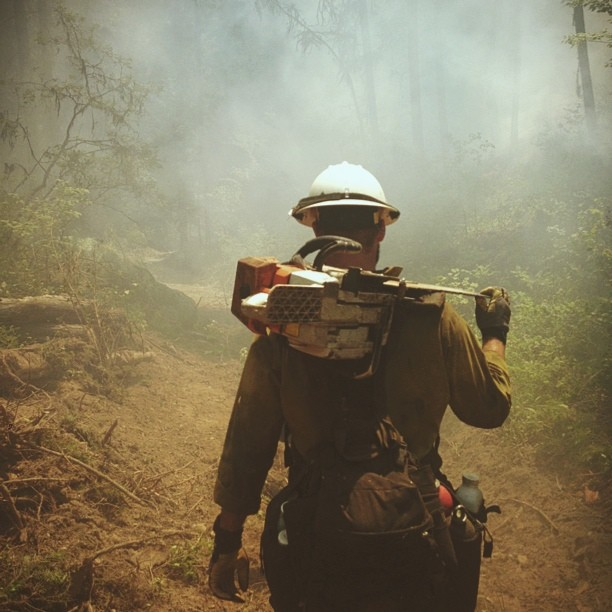 Hotshot Firefighter Takes to Instagram to Document His Crews Heroics boydston4