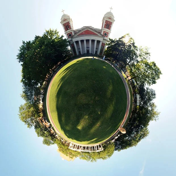 Bending Pixels: Fun Things You Can Do With Panorama Stitching Software cathedral