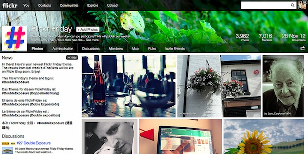 Flickr Redesigns Groups Pages to Match the Sites New Look groups1